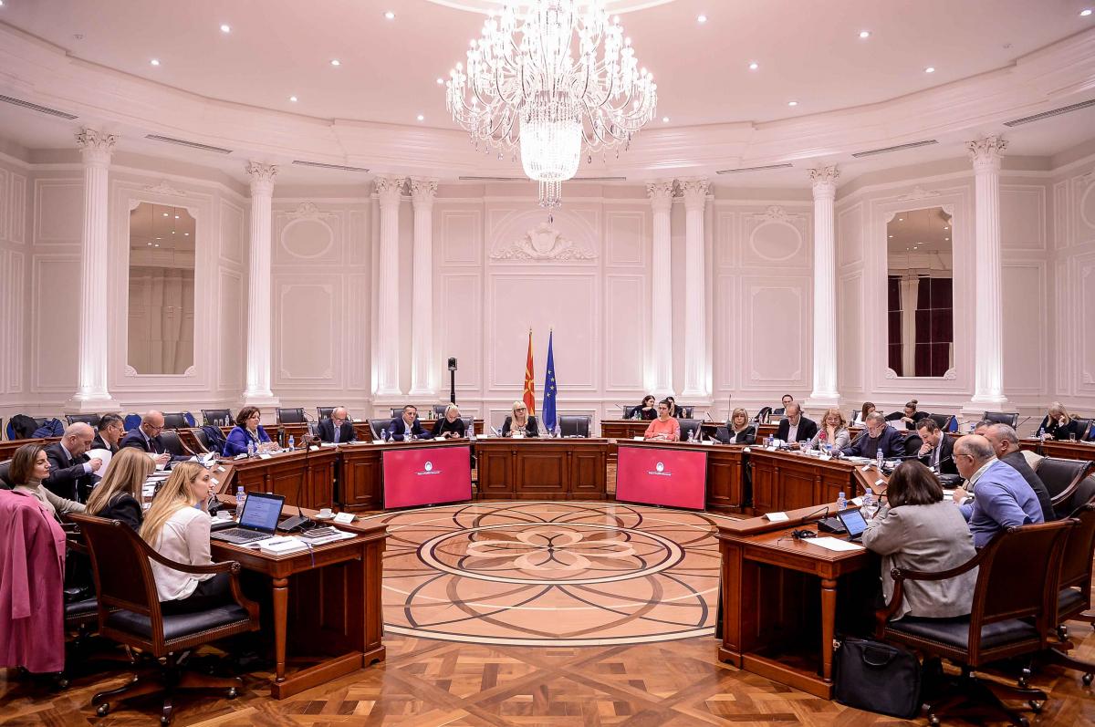 Сите предлог закони од правосудството ќе бидат изготвени и пуштени во постaпка во Собранието до крајот на годината