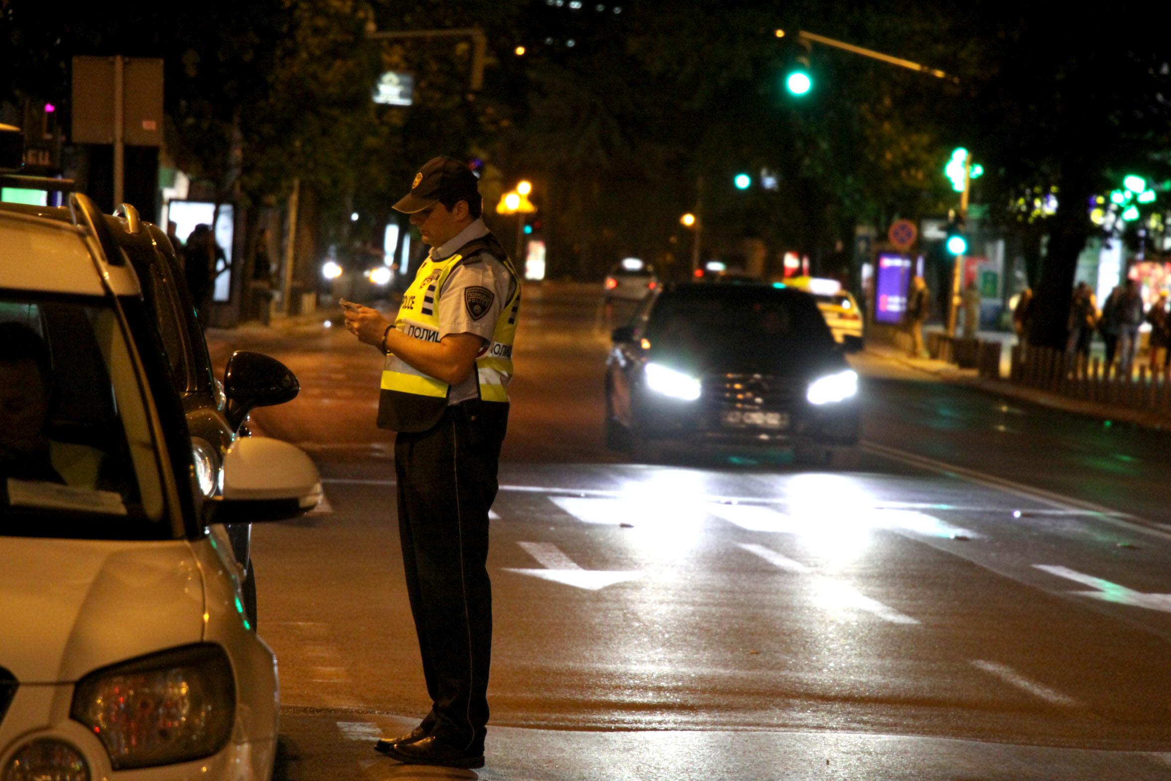 Кандидати за полицајци ќе го регулираат сообраќајот на крстосниците