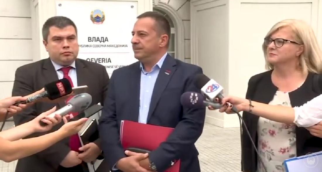 Ристовски: Околу новиот Закон за JO со опозицијата имаме приближување на ставови