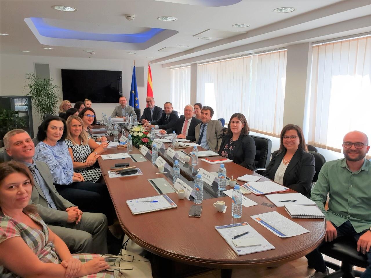 """""""Поддршка на реформите во правосудниот сектор"""" – одржан првиот состанок на Управниот одбор на проектот"""