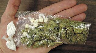 Приведени малолетници со марихуана и кокаин