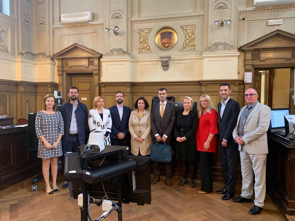 Делегација од Министерството за правда во посета на Министерството за правосудство на Р. Словенија