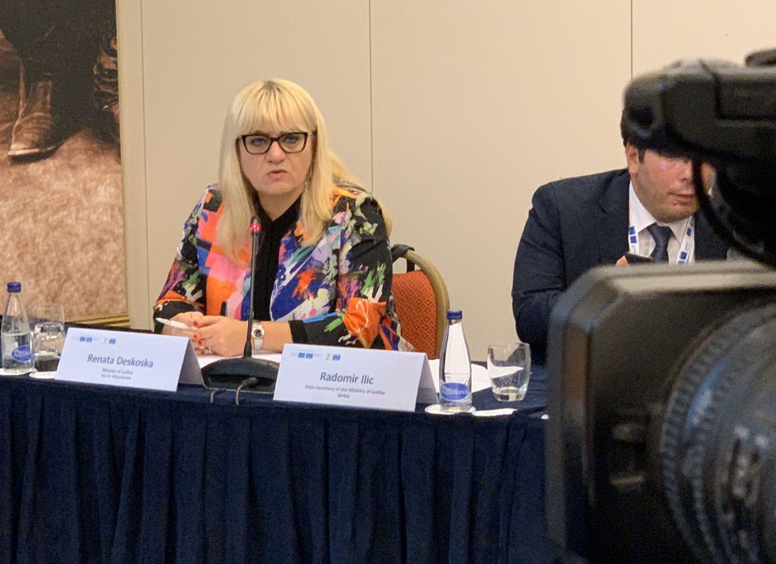Дескоска во Бечиќи најави измени на Кривичниот законик за кривични дела поврзани со тортура
