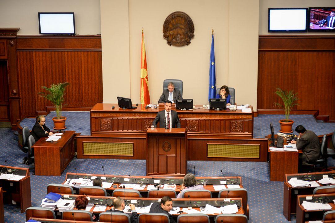 Заев: Решението на изборниот модел дали ќе остане ист, дали ќе се менува е работа на Парламентот