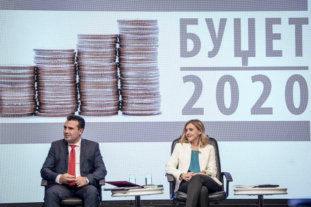 Предлог-буџетот за 2020 година е реален и е израз за растот на економијата