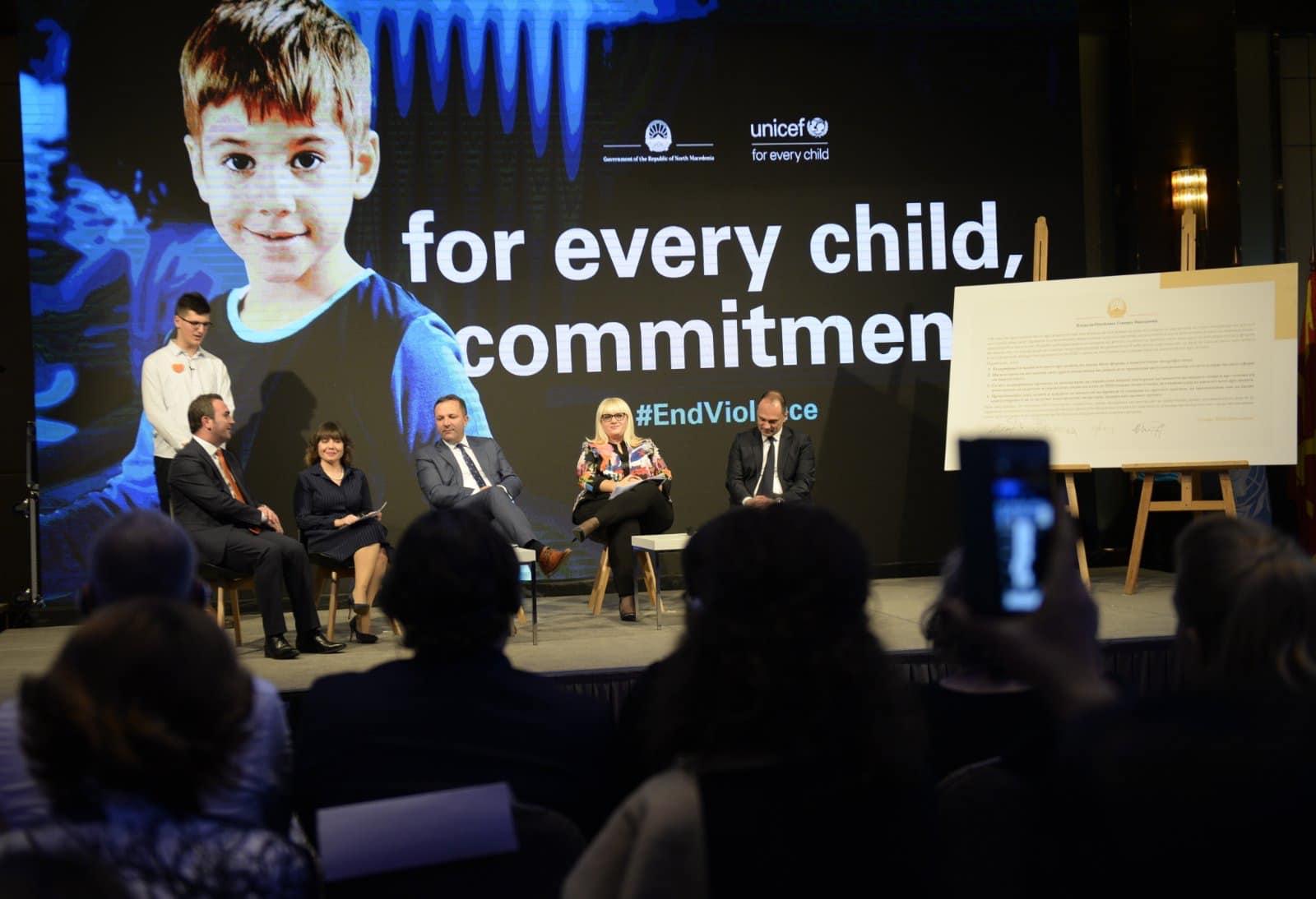 Спасовски: МВР ги поддржува сите иницијативи кои овозможуваат поквалитетна заштита на децата од насилство (видео)