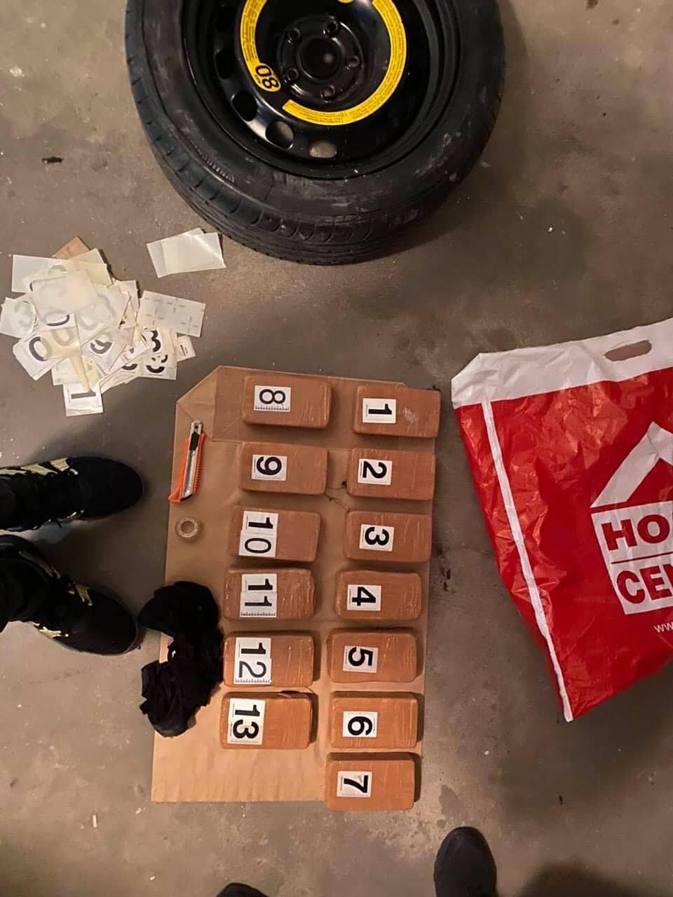 Македонци шверцувале хероин и кокаин вреден милион евра- уапсени 12 лица