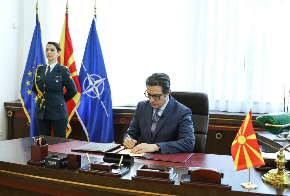 Последниот политички чин со кој нашата земја влегува и формално во НАТО Алијансата
