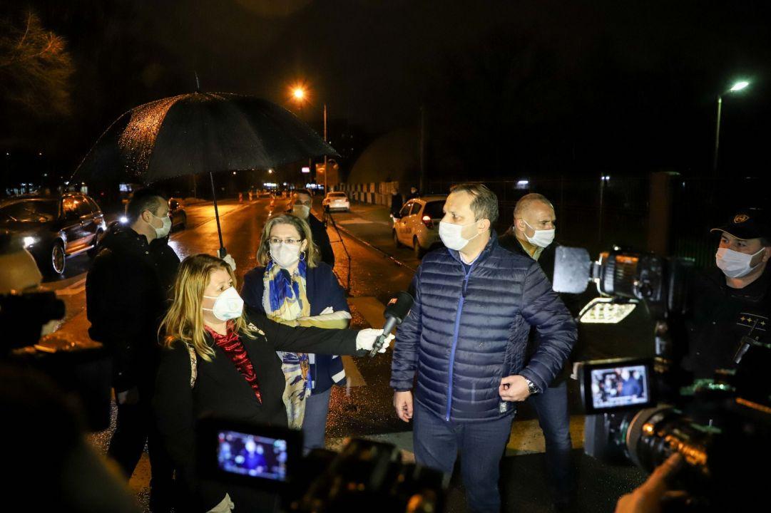 Спасовски изврши увид на спроведувањето на полицискиот час