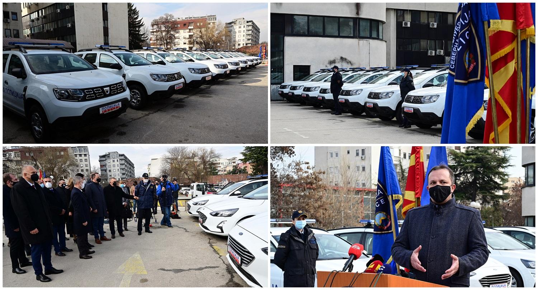 Фото + Видео: Нови возила и опрема за Граничната полиција